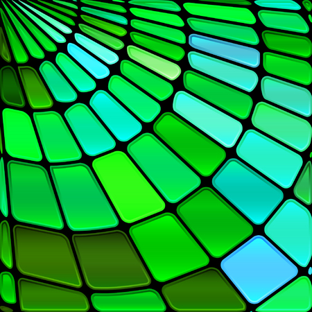 web2: abstract stained-glass mosaic background