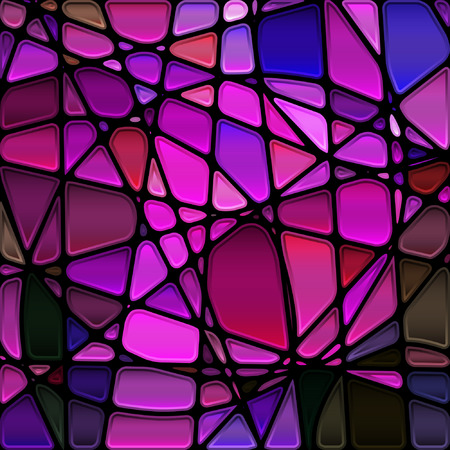 glass modern: abstract stained-glass mosaic background