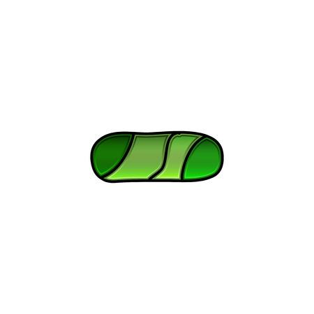 hyphen: carattere vetrate, trattino Vettoriali
