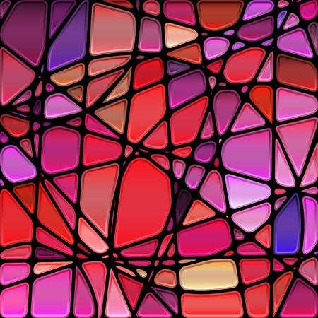 stained: abstract stained-glass mosaic background
