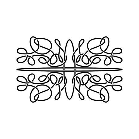 knotwork: Celtic ornament