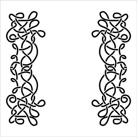 interlace: Celtic ornament
