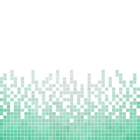 mosaic background: abstract square pixel mosaic background Illustration