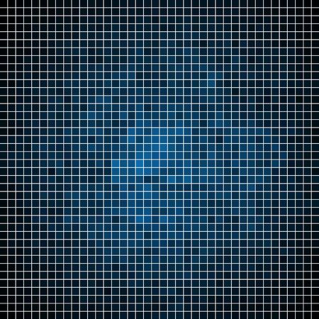 technology background: abstract square pixel mosaic background Illustration