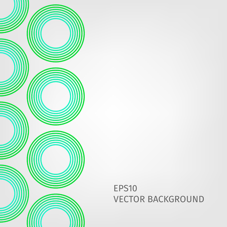 green line: abstract background with stripes pattern