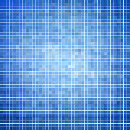 square abstract: abstract square pixel mosaic background Illustration