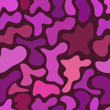 spotted: abstract chaotic spotted seamless pattern Illustration