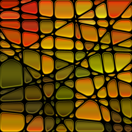 mosaic: abstract stained-glass mosaic background