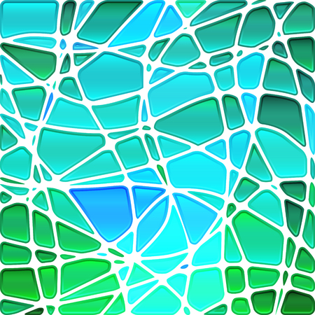 mosaic background: abstract vector stained-glass mosaic background