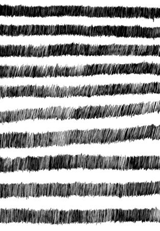 striped background: abstract black ink striped background