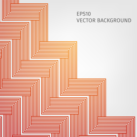 red line: abstract vector background with stripes pattern