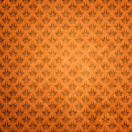 old papers: abstract damask grunge background