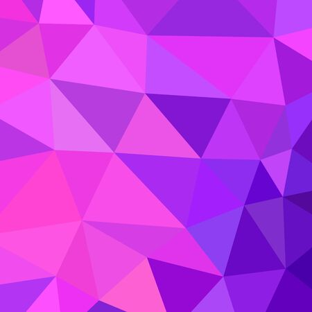violet purple: abstract vector geometric triangle background Illustration