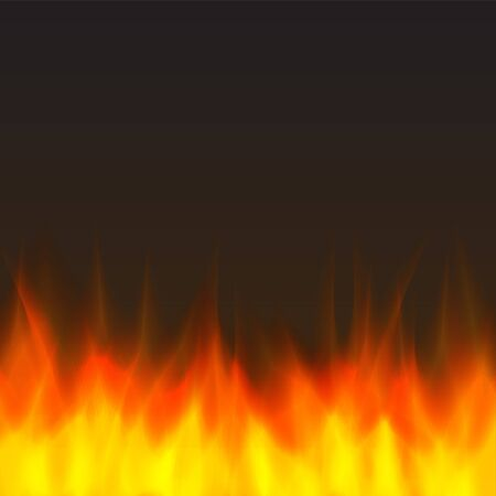inferno: abstract vector fire background