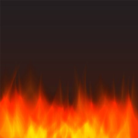 flame background: abstract vector fire background