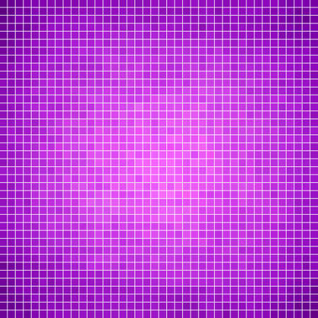 violet purple: abstract vector square pixel mosaic background Illustration
