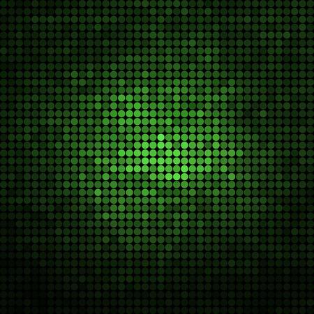 ラウンド ドット背景色の抽象的なベクトル