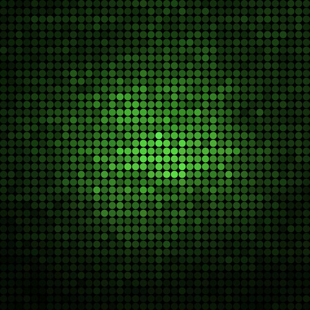 green paint: abstract vector colored round dots background
