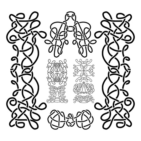 celt: traditional vector celtic ornament