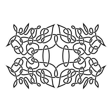 druid: traditional vector celtic ornament
