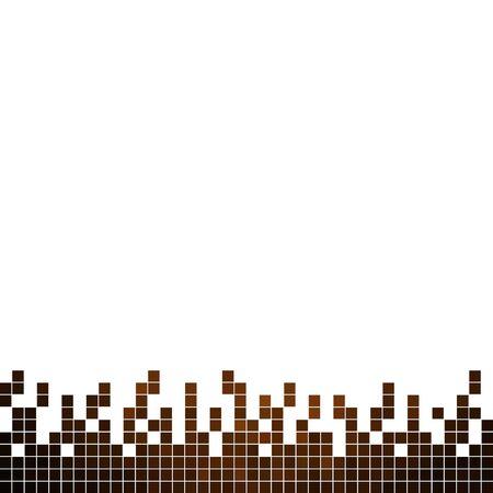 abstrakte Vektor-quadratischer Pixelmosaikhinter