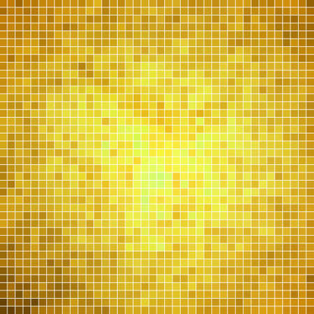 mosaic tiles: abstract vector square pixel mosaic background Illustration