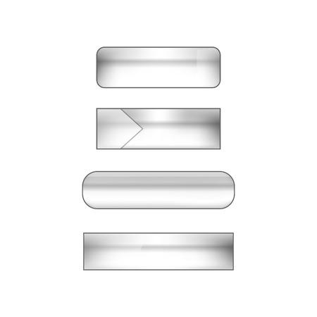 web: vector web buttons set