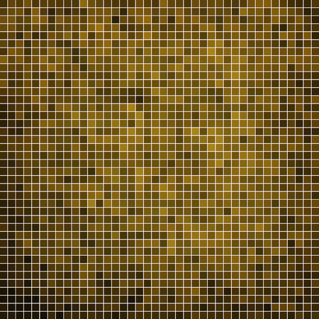 shiny background: abstract vector square pixel mosaic background Illustration