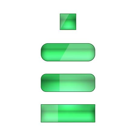 web buttons: vector web buttons set