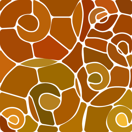 glass modern: abstract vector stained-glass mosaic background