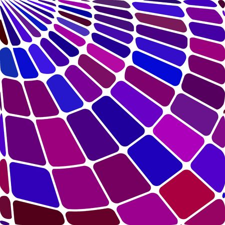 magenta decor: abstract vector stained-glass mosaic background