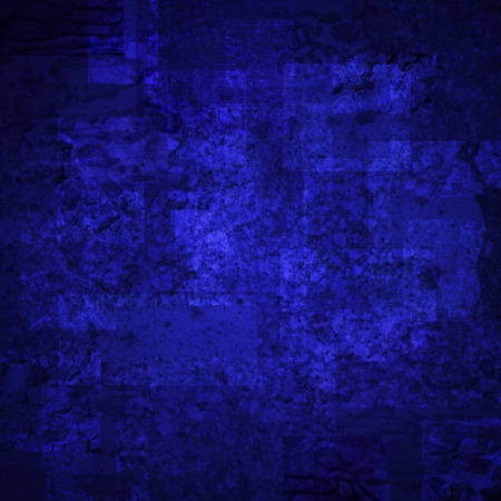 scratched: abstract colored scratched grunge background - dark blue