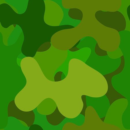 spotted: abstract vector chaotic spotted seamless pattern - green