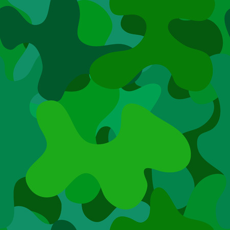 spotted: abstract vector chaotic spotted seamless pattern - green and blue