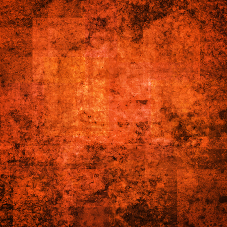 scratched: abstract colored scratched grunge background - bright orange