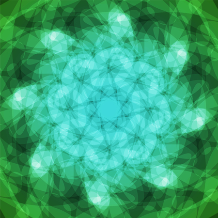 blue green background: abstract vector spotted background - green and blue
