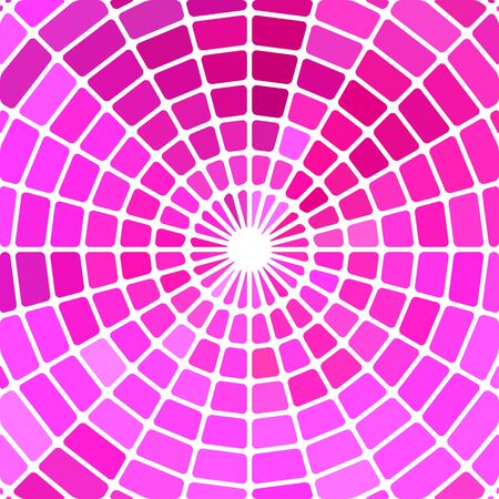 abstract vector stained-glass mosaic background - purple and magenta Illustration