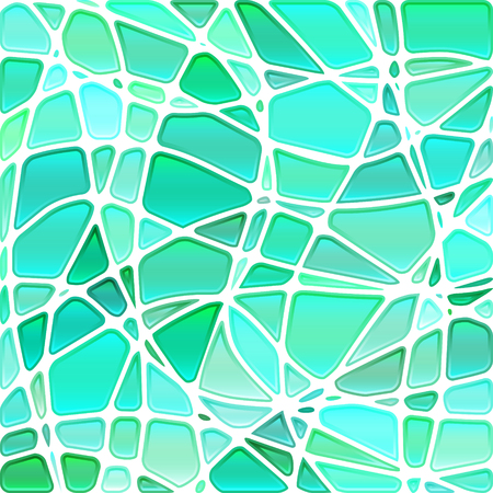 translucent: abstract vector stained-glass mosaic background - light blue Illustration