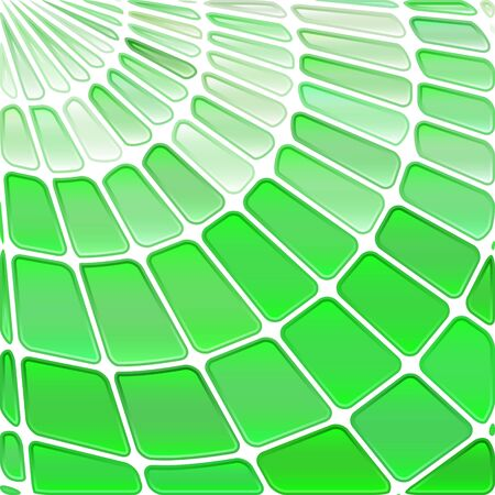 abstract vector stained-glass mosaic background - light green