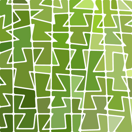 modern interior: abstract vector stained-glass mosaic background - grass green