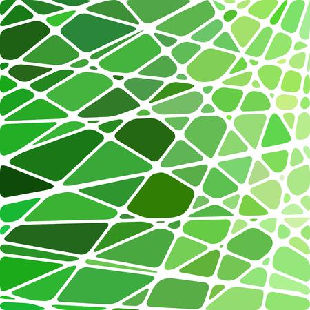 résumé, vecteur vitrail mosaïque fond - vert clair
