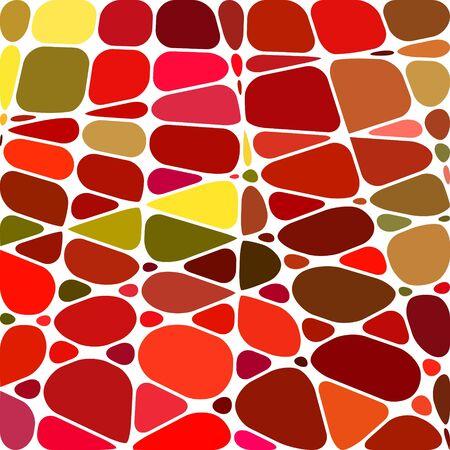 résumé , vecteur vitrail mosaïque fond - rouge et orange