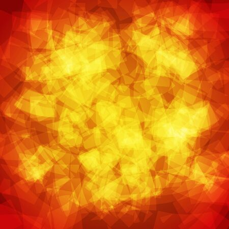 abstract vector spotted background - orange and yellow Çizim
