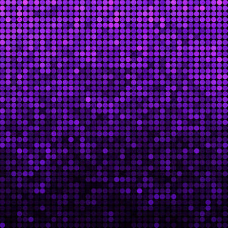 abstract vector colored round dots background - violet Illustration