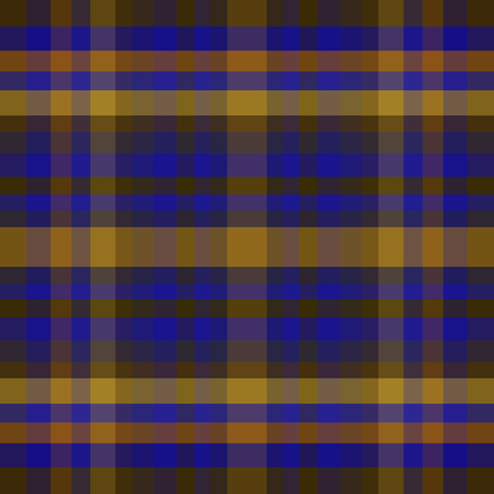 abstract vector tartan seamless - blue and yellow