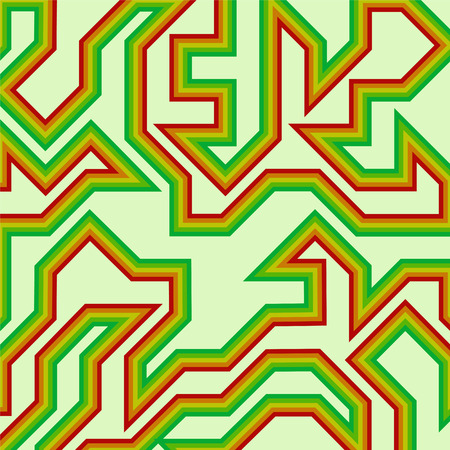 twist: Abstract with stripes pattern. Illustration