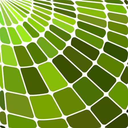 résumé , vecteur vitrail mosaïque - vert vif