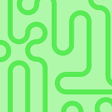 Abstract vector background with stripes pattern - green.