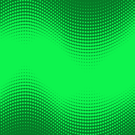 A abstract vector halftone background - green and teal