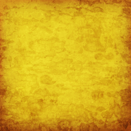 abstract vector grunge background - yellow and brown